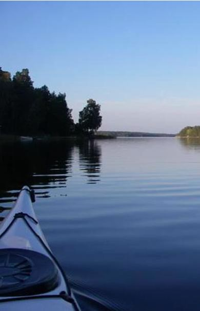 Paddle Kayak on Ljusterö