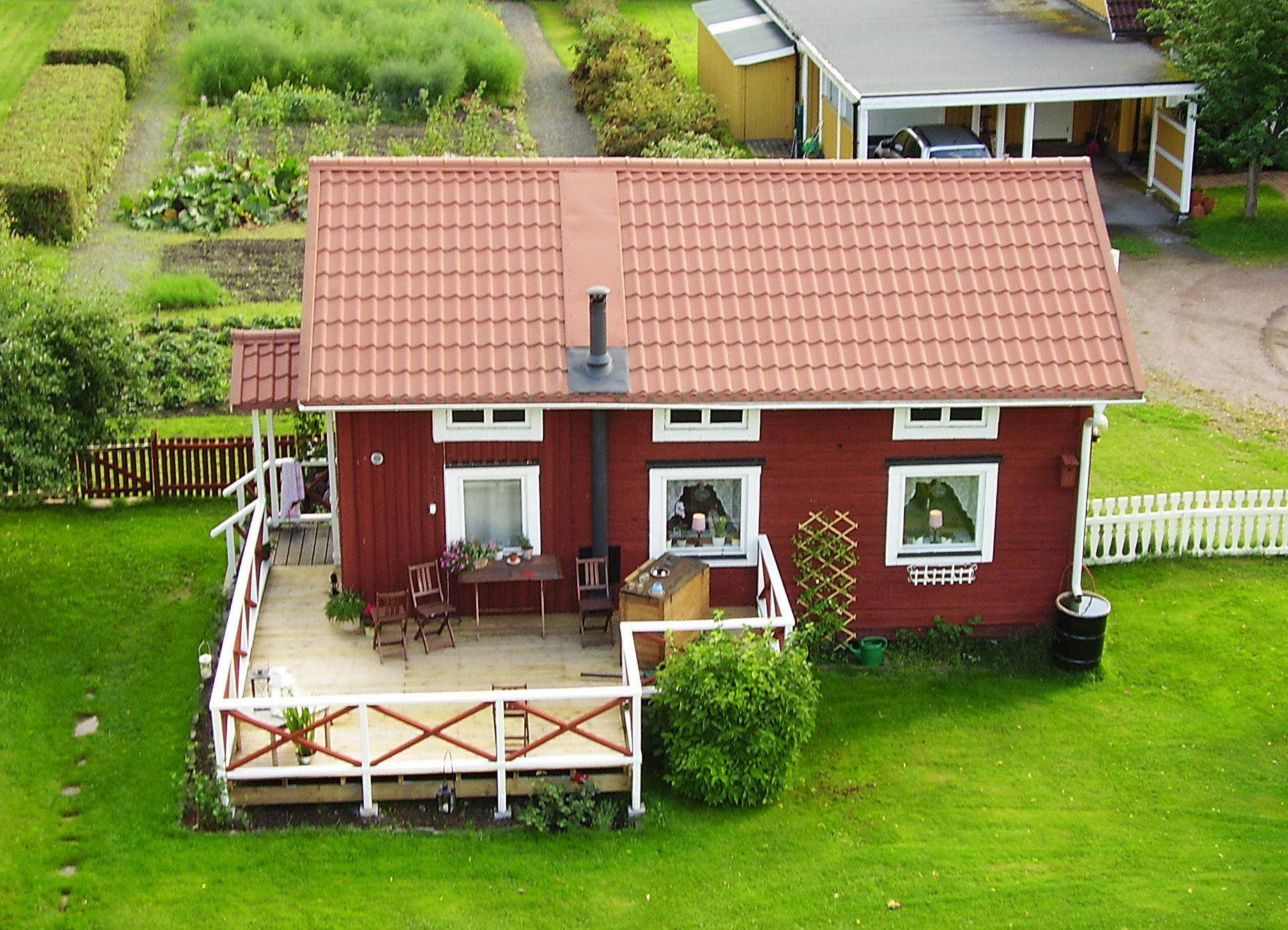 Stuga vid Långnäs Herrgård