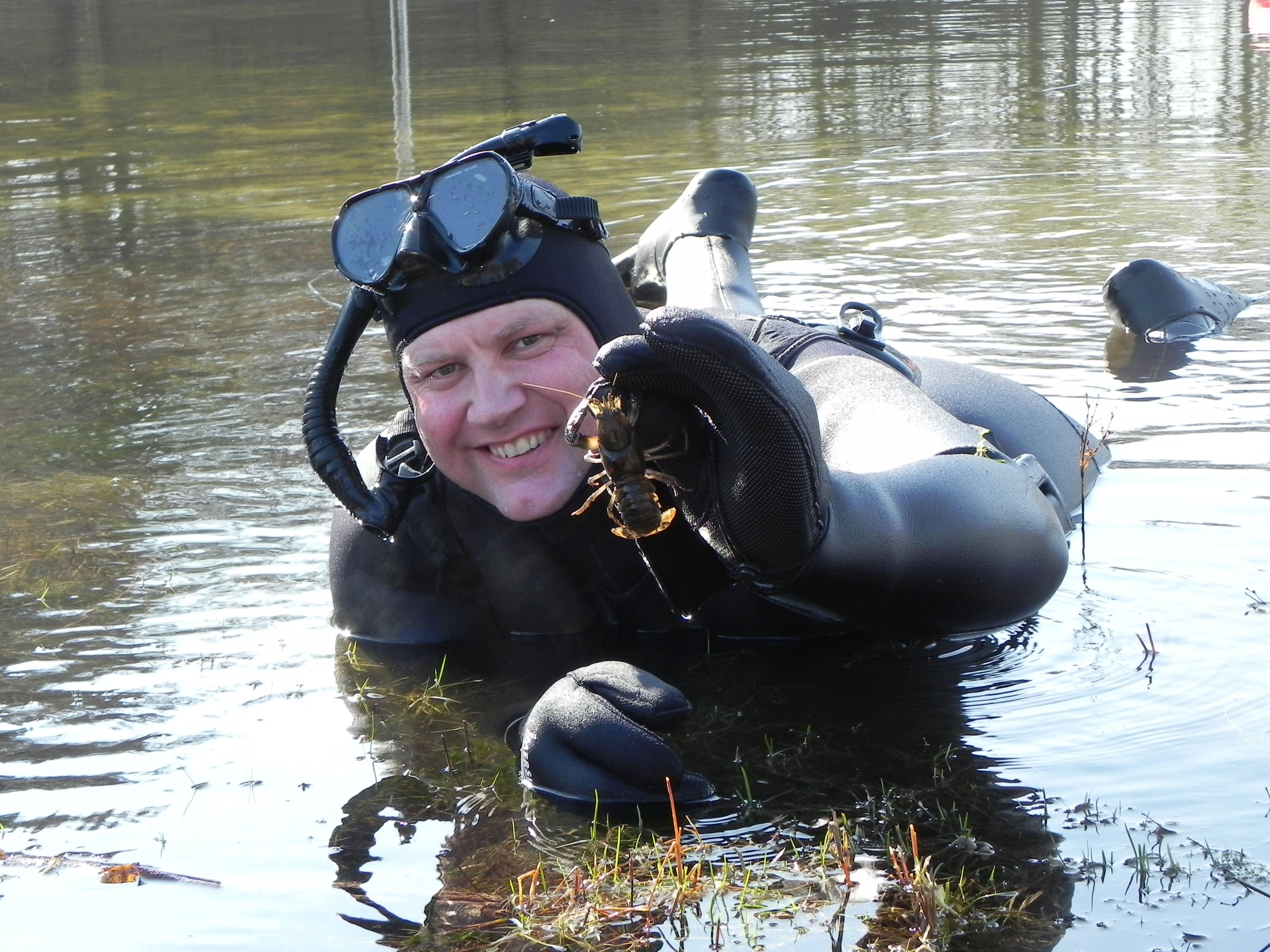 Snorkelsafari i Vedsted sø