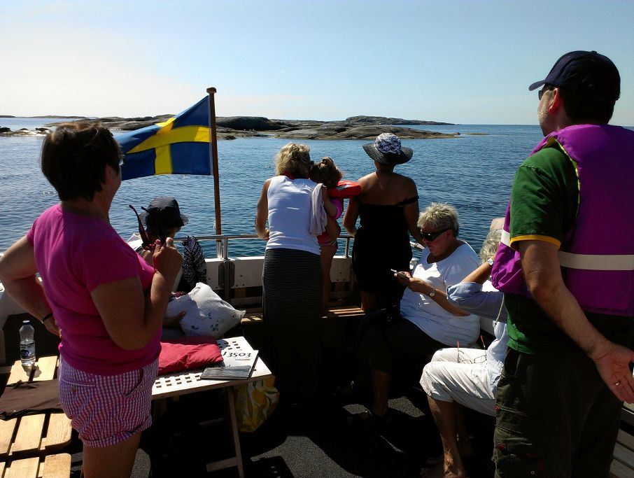 Tour: 3 To the island of Vinga return ticket