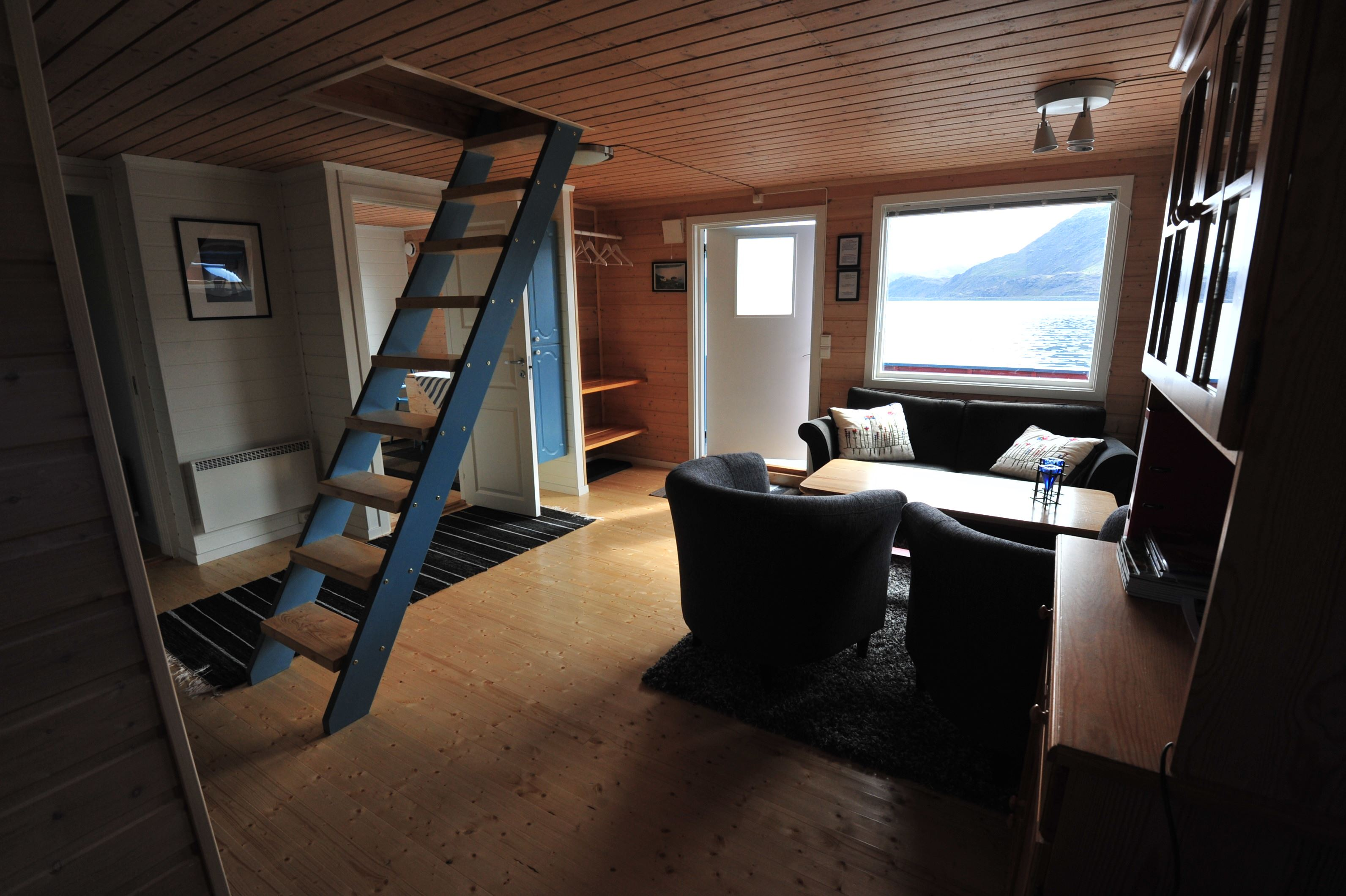 Frode Kristiansen,  © Filmrapport, North Cape Cabins