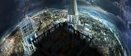 Panorama XXL - Rouen 1431, à l'époque de Jeanne d'Arc