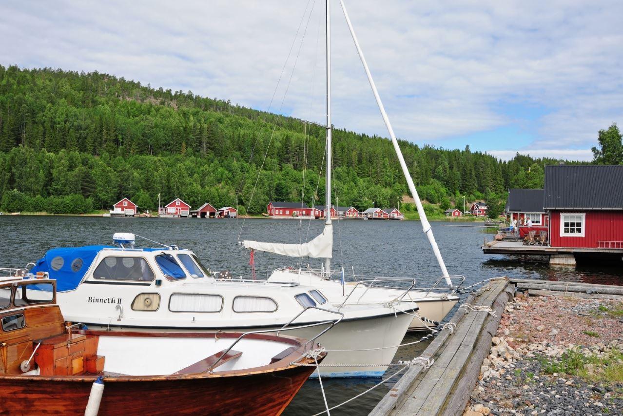 © Kramfors kommun, Mjälloms hamn