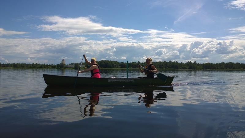 Canoeing Trip on Lake Vesijärvi | Fenix Ohjelmapalvelut