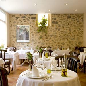 Restaurang, Hotell Nord, Estellencs, Mallorca, Signaturresor
