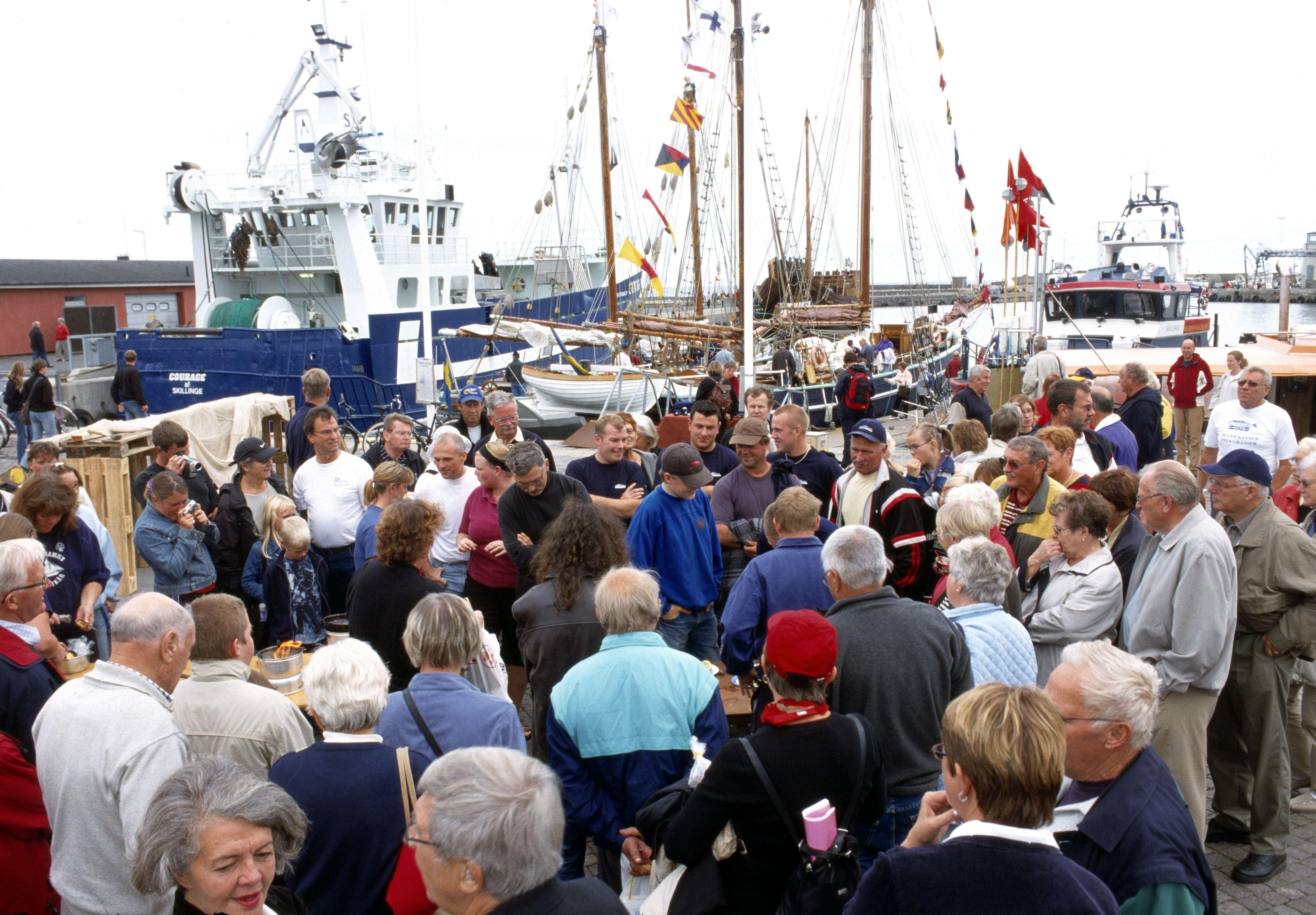 Vid hamnen och på sta´n - Sillens Dag, Simrishamn