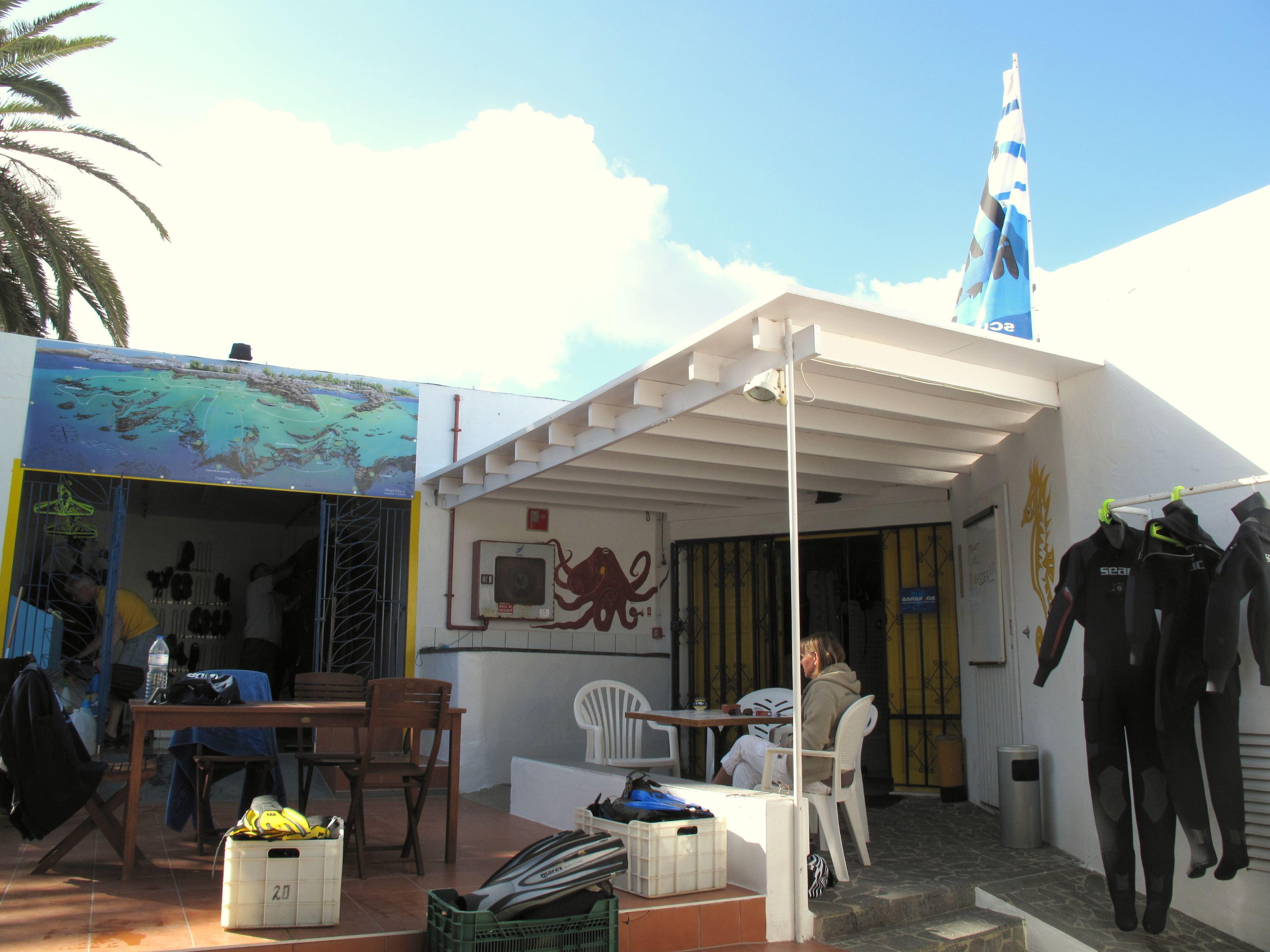 Dykning, Arena Dorada, Puerto del Carmen Lanzarote, Signaturresor