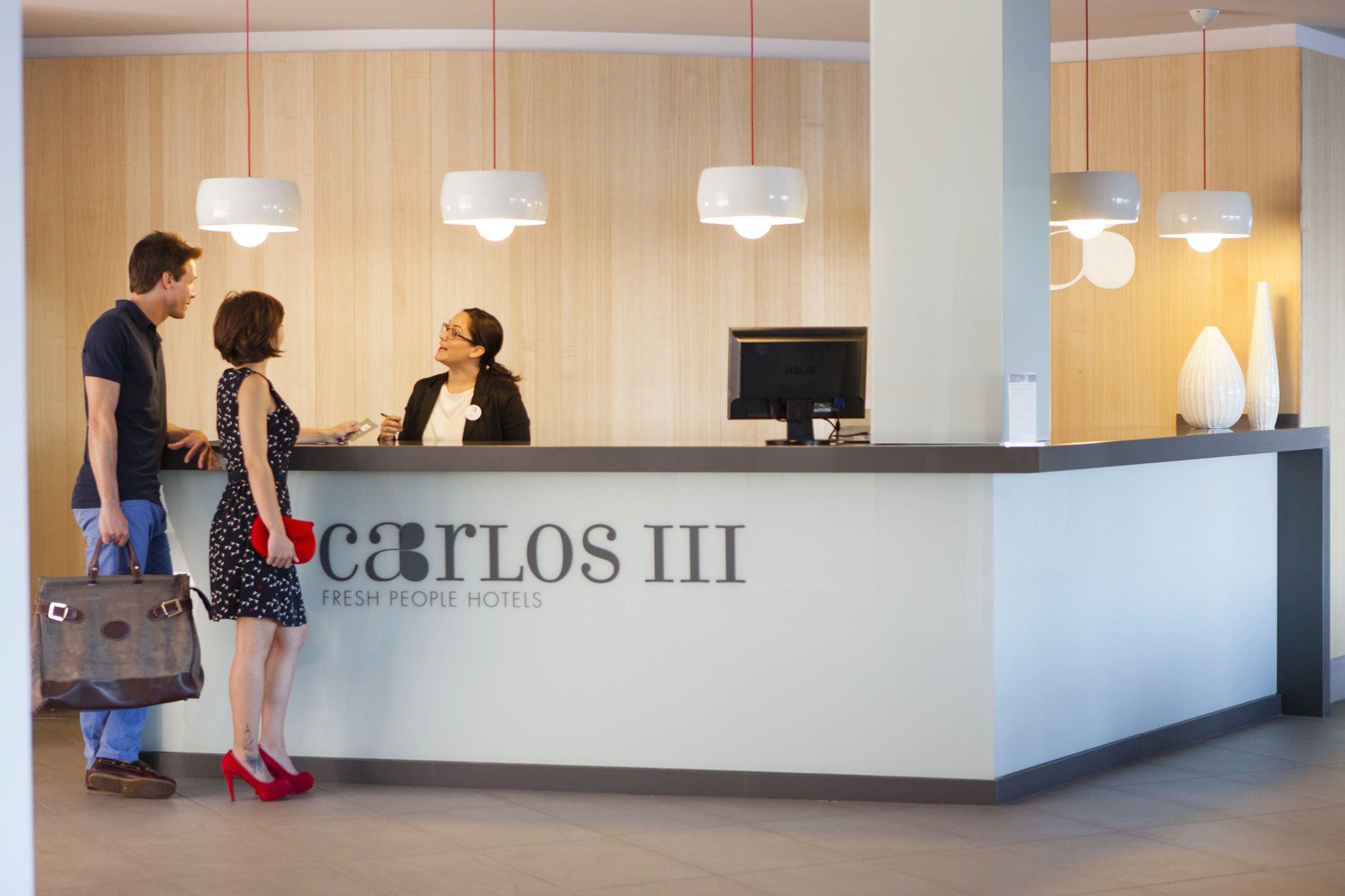 Reception, Hotell Artiem Carlos III, Es Castell, Menorca, Signaturresor