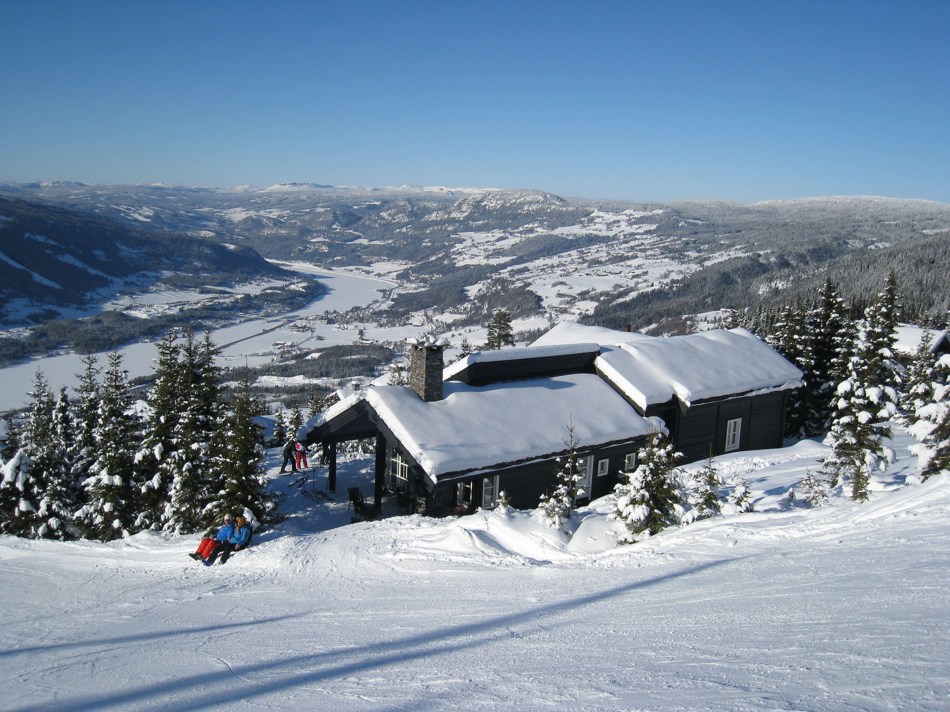Hafjell Ski Lodge Storstua