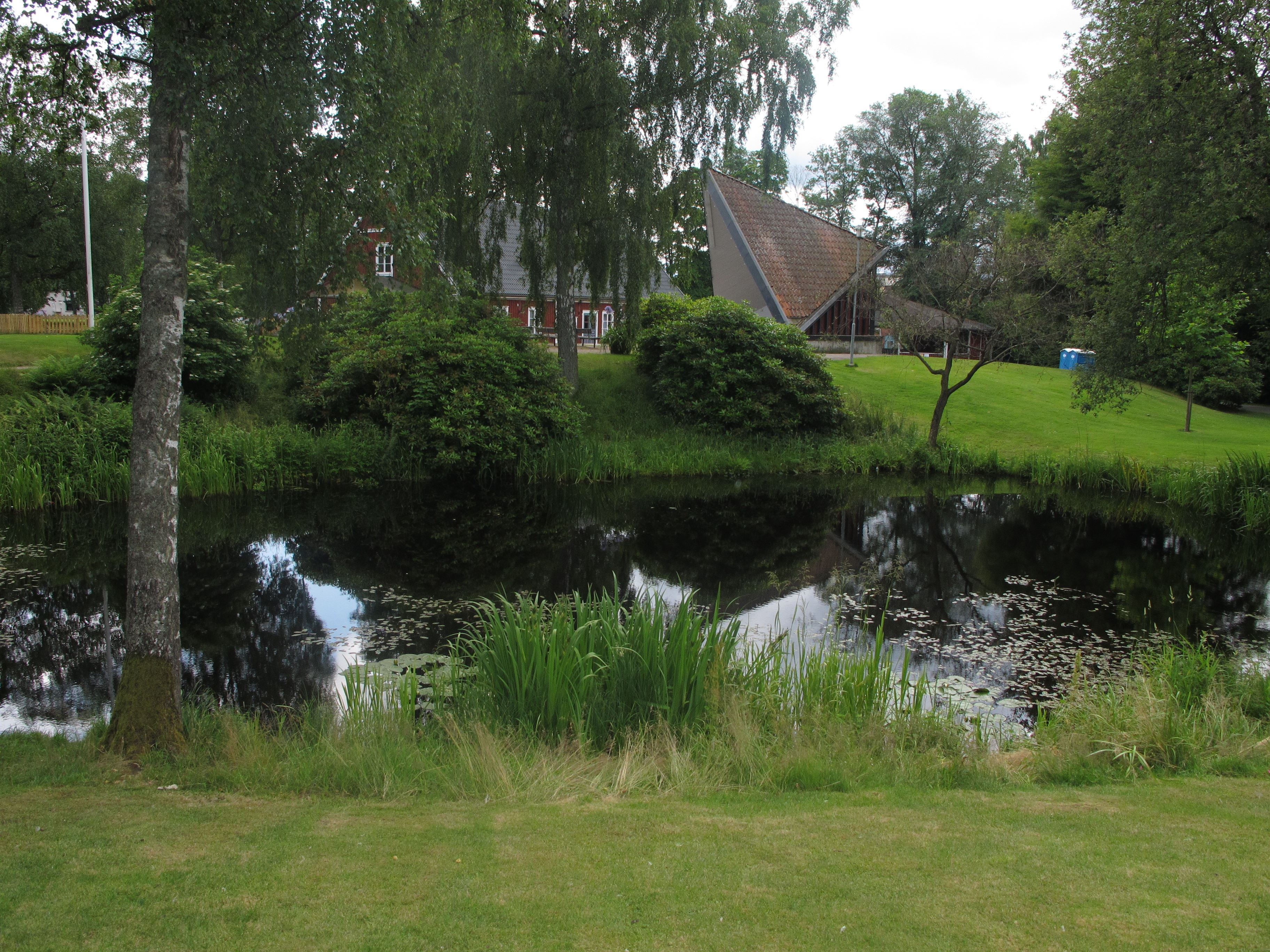 Sommeryoga in Ljungbys Hembygdspark