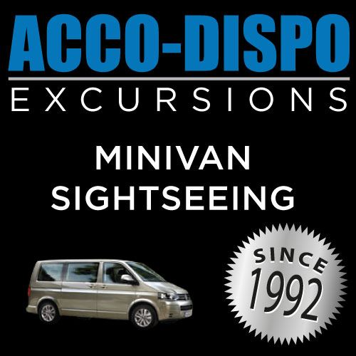 EXCURSION BY MINIBUS TO AMBOISE OR CLOS-LUCE/CHENONCEAU/CHEVERNY/CHAMBORD WITH ACCO-DISPO