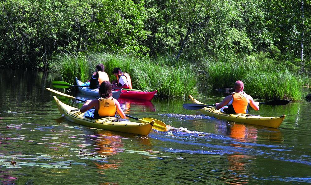Canoe rental - KanoEkspressen