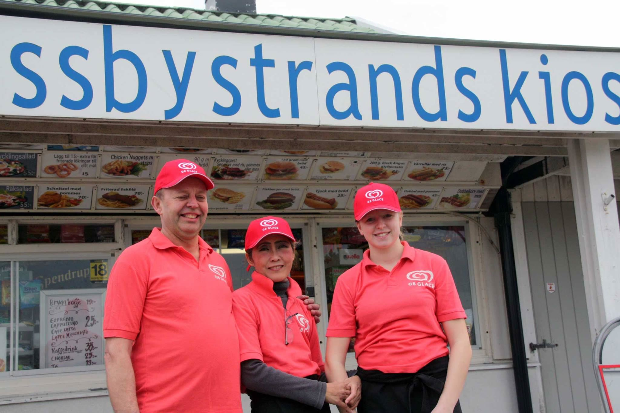 Mossbystrands Kiosk, Personal