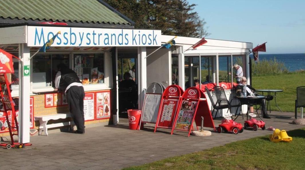 Mossbystrands Kiosk, Mossbystrands Kiosk