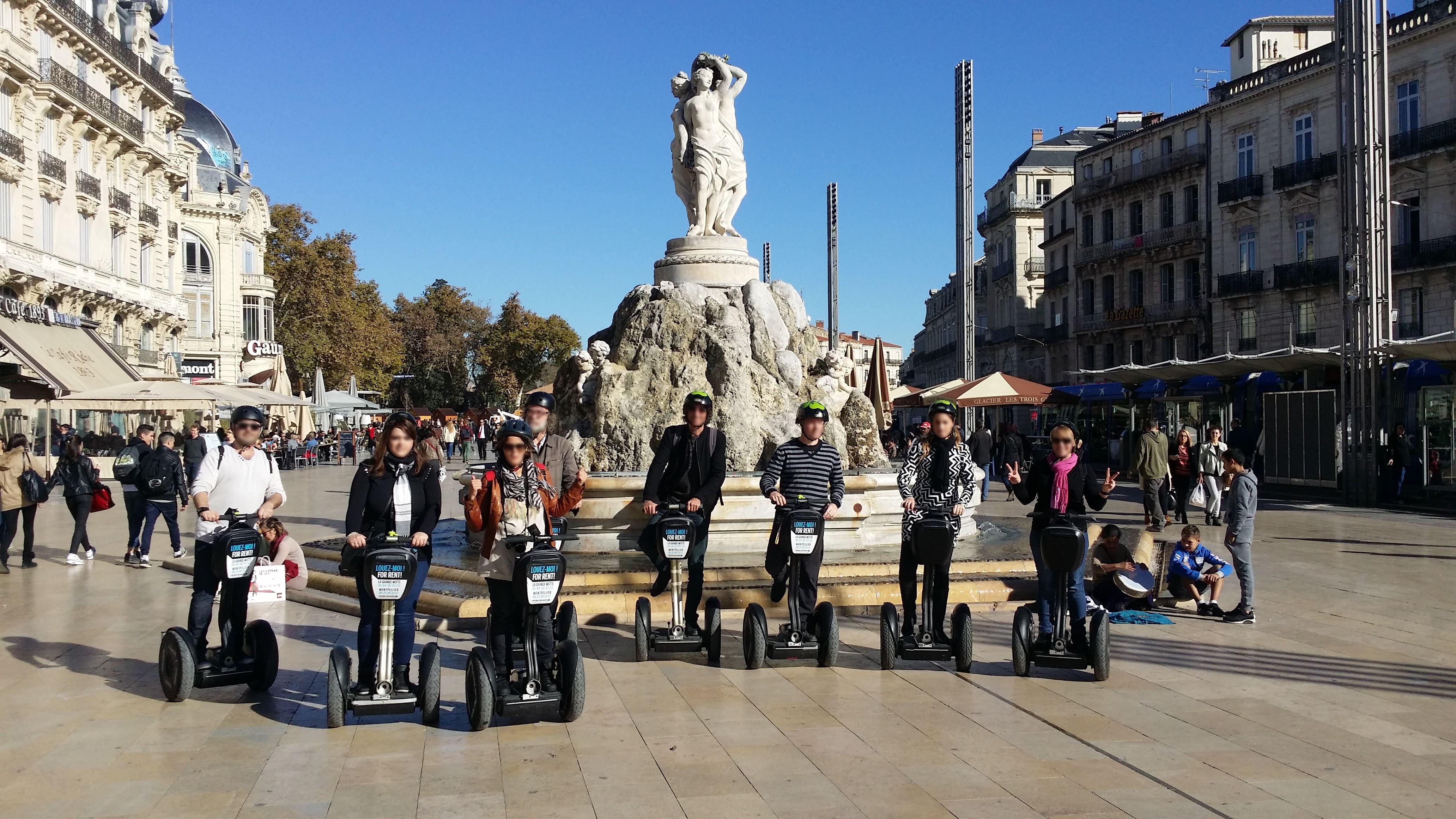Montpellier discovery with Segway - 1hour
