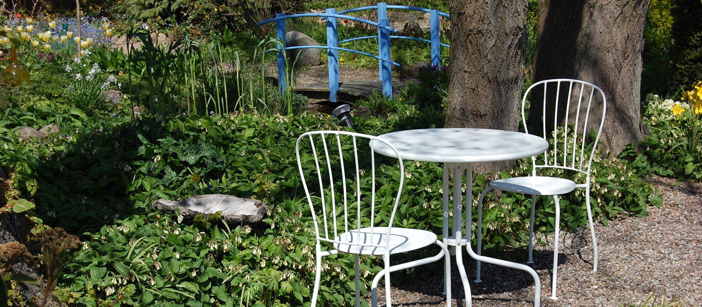 Blå Husets trädgård