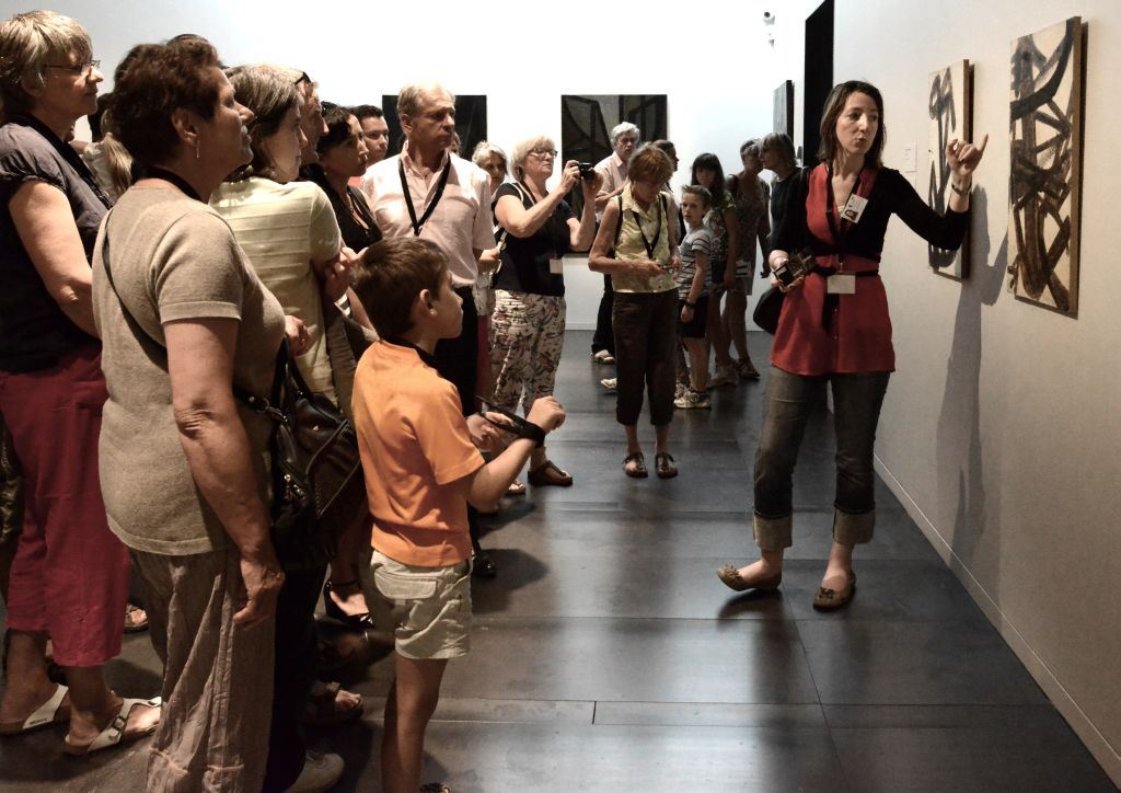 """Visite guidée """"Un musée, deux artistes : Pierre Soulages et Le Corbusier"""""""