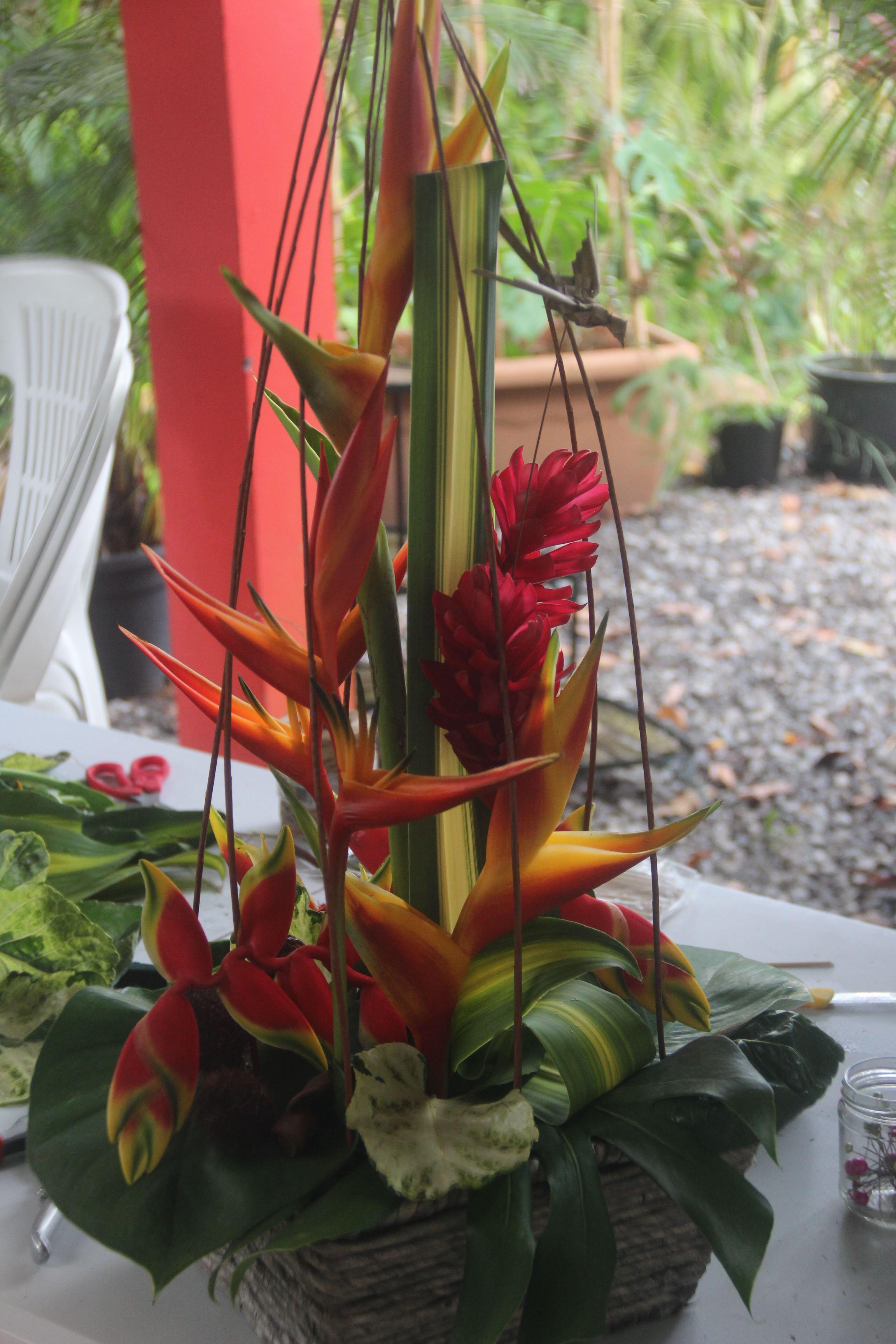Comptoir Mélissa : cours d'art floral