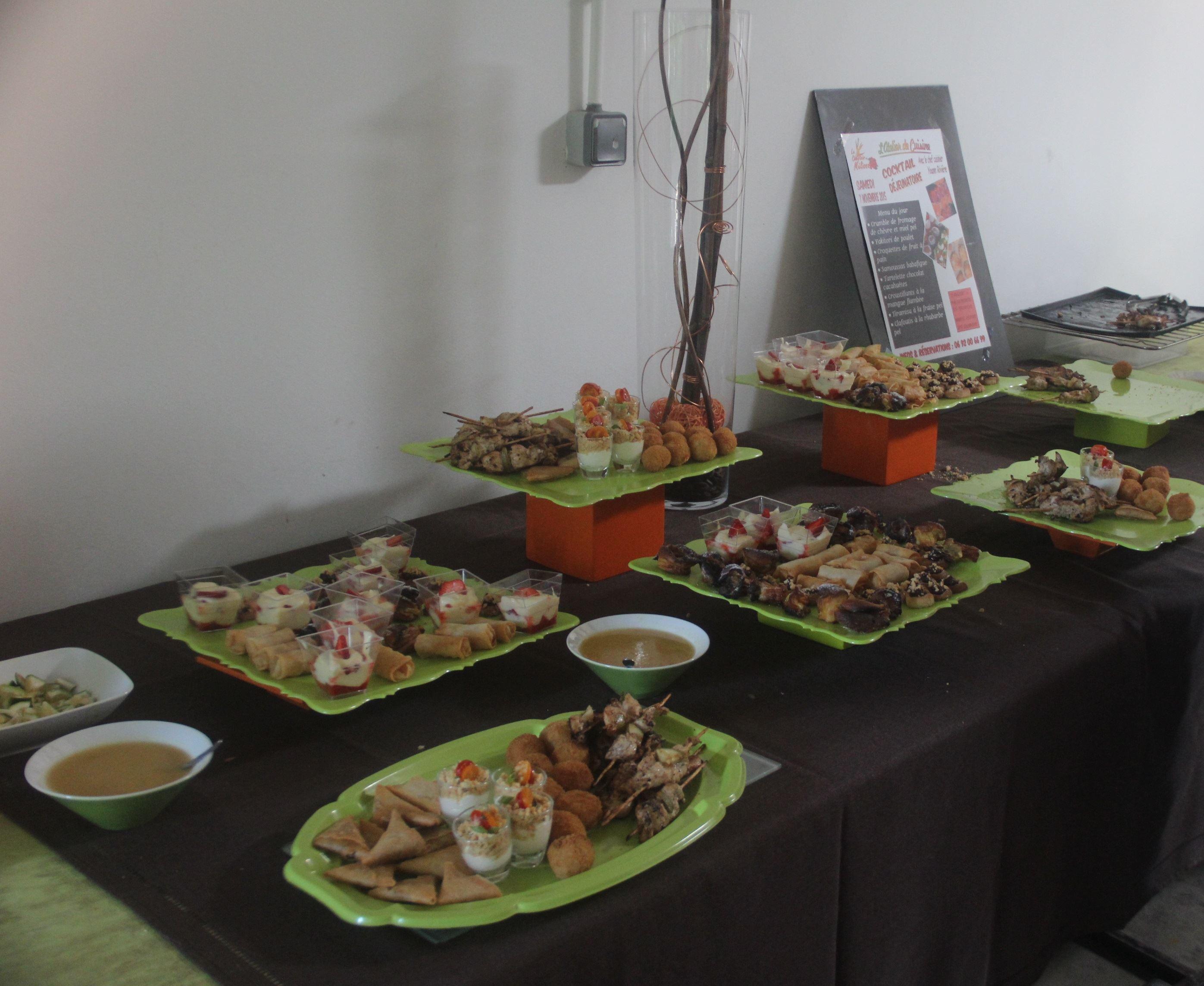 Comptoir Mélissa : atelier de cuisine