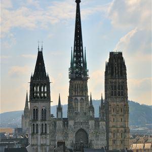 Rouen, regards d'écrivains