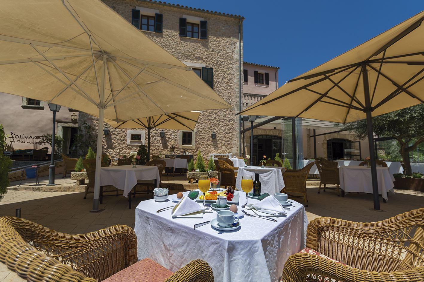 Frukost, Hotell S'Olivaret, Orient, Mallorca, Signaturresor