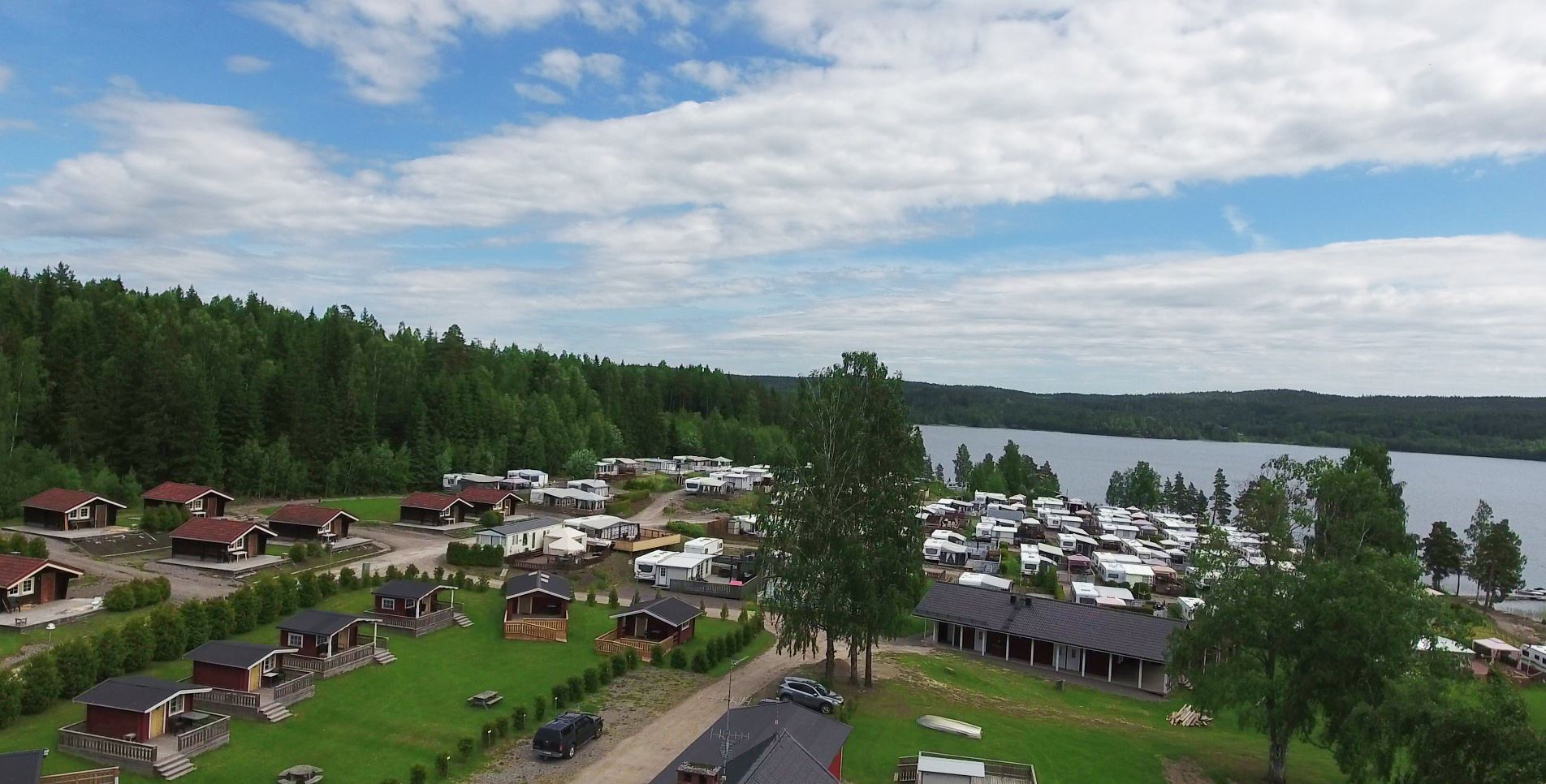 Charlottenberg Camping Haganäset