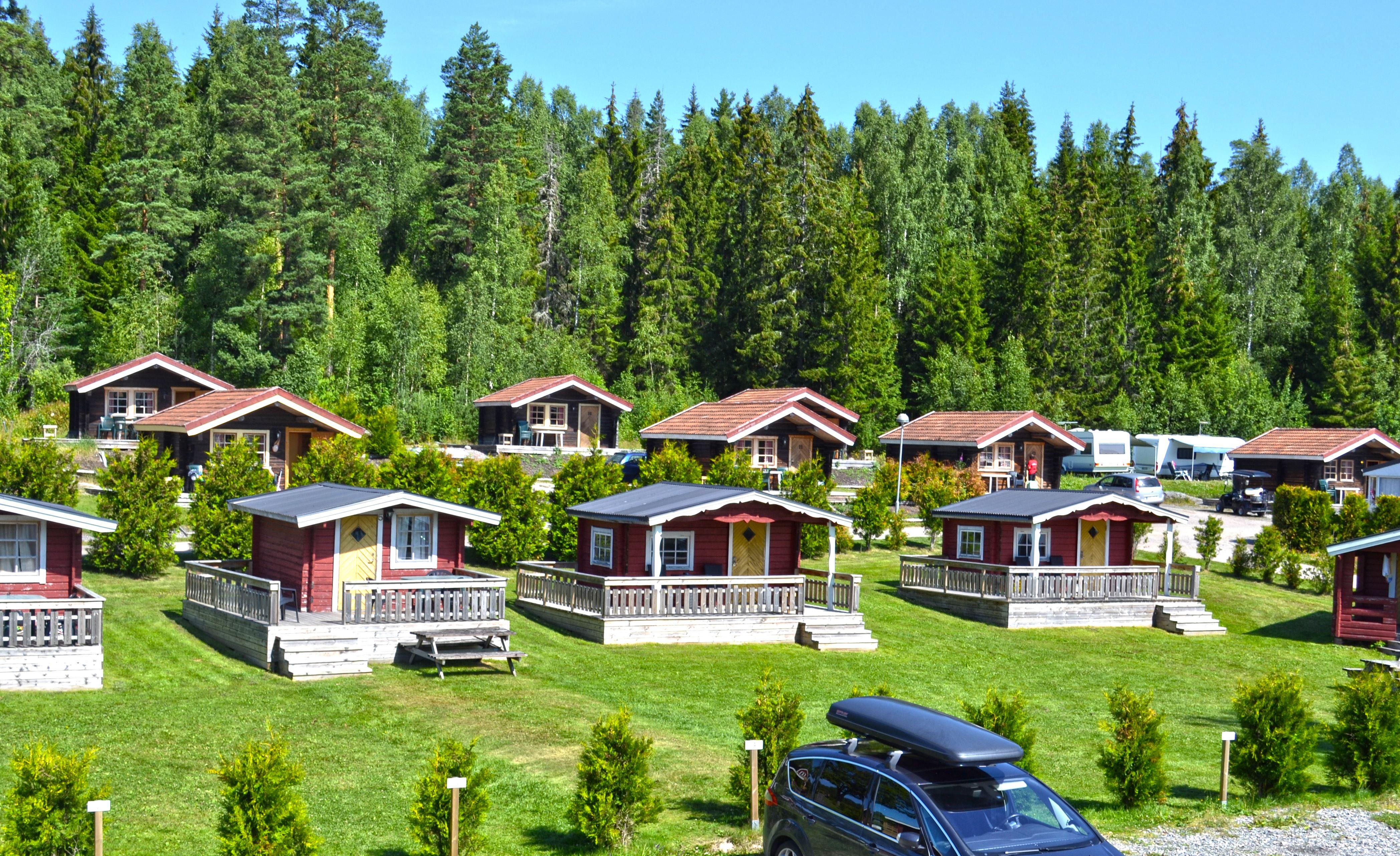Charlottenberg Camping & Ferienhäuser Haganäset