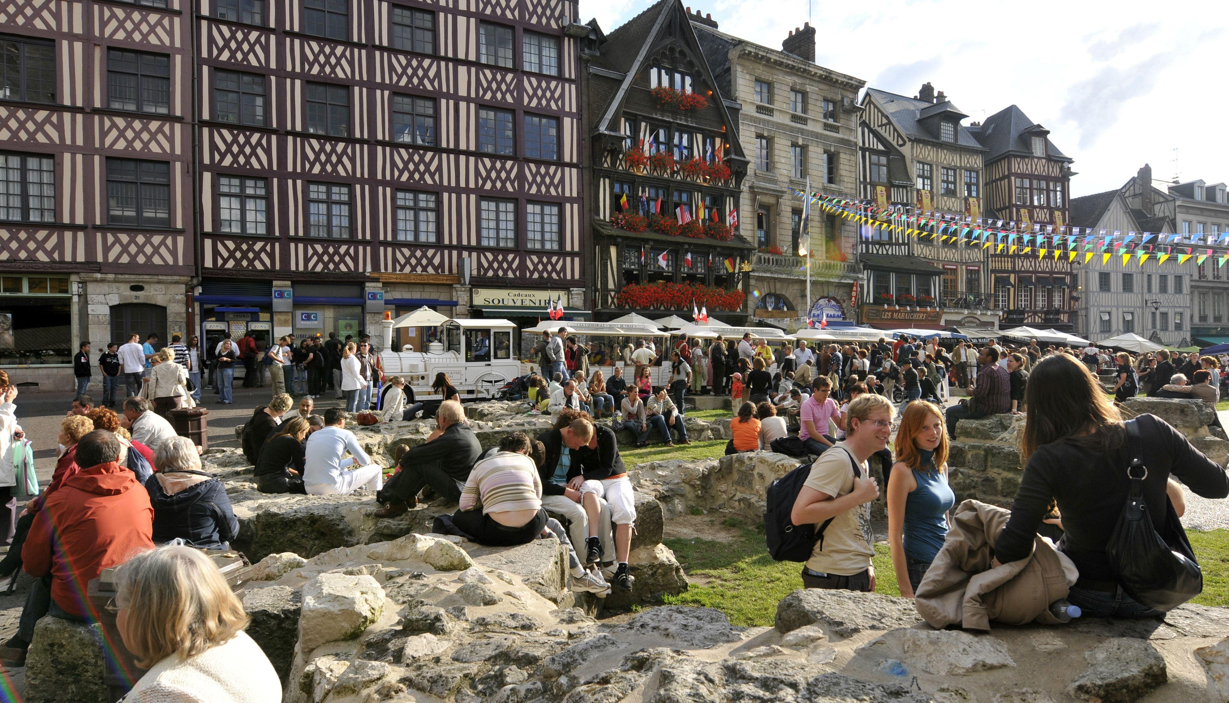 Le Vieux Marché, plus qu'un marché, un quartier (visite guidée)