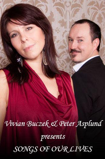 KONSERT - Songs of our life, Peter Asplund och Vivian Buczek