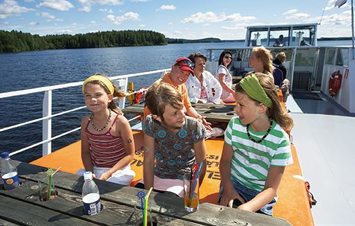 Lunch cruise ticket | Päijänne-Risteilyt Hilden