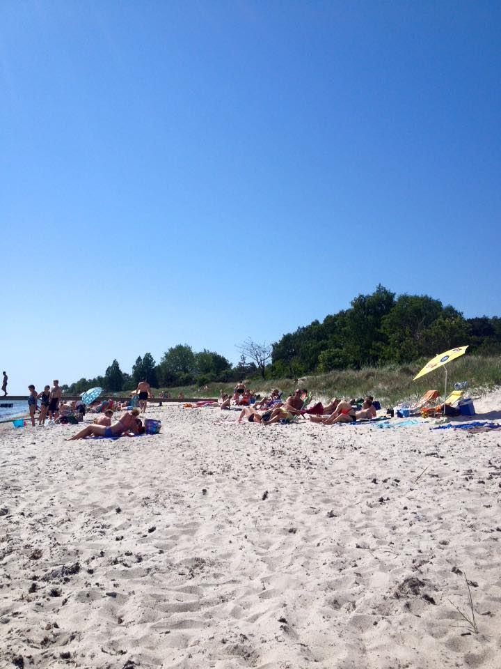 Skateholm beach