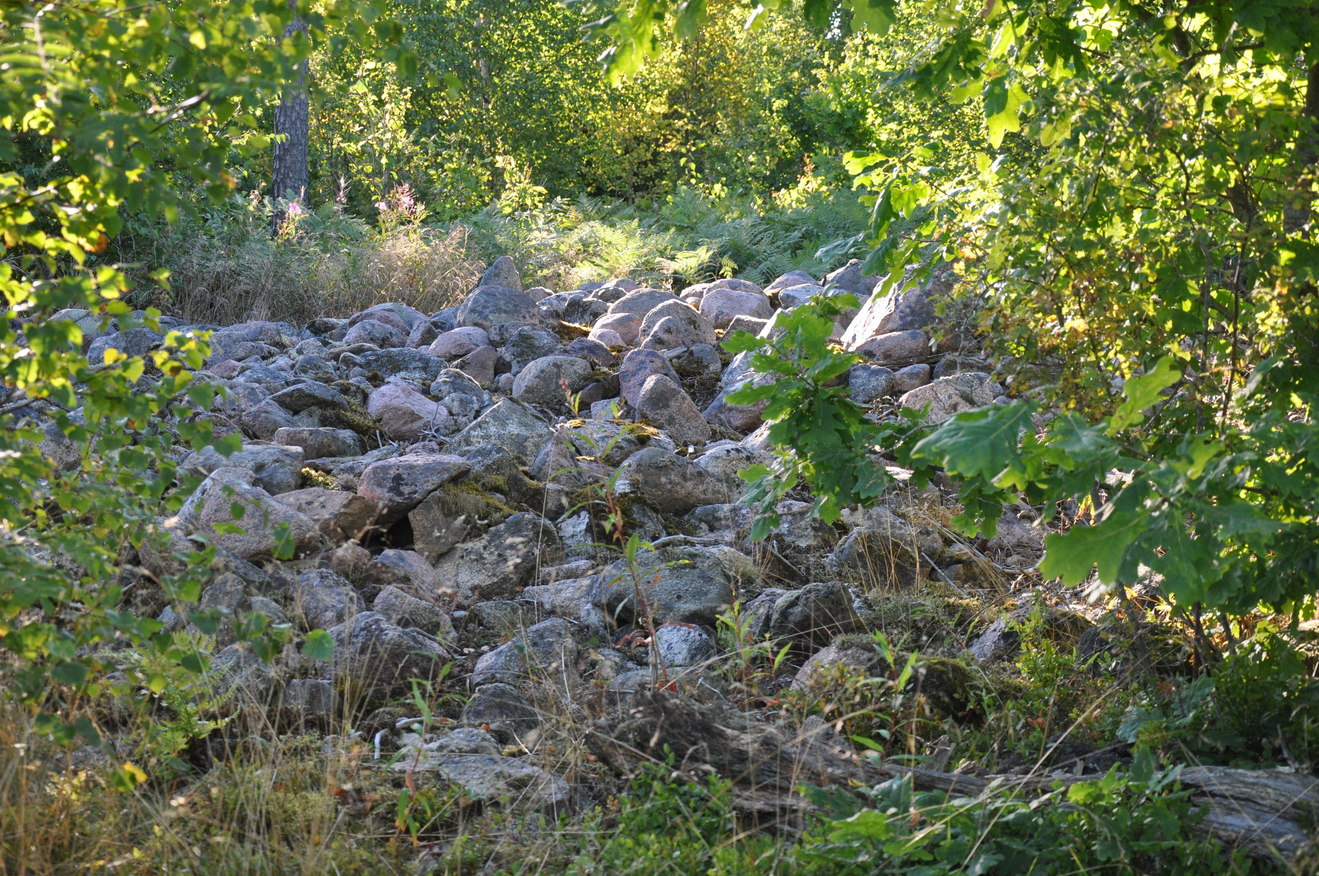 Gravfältet vid Långeruda