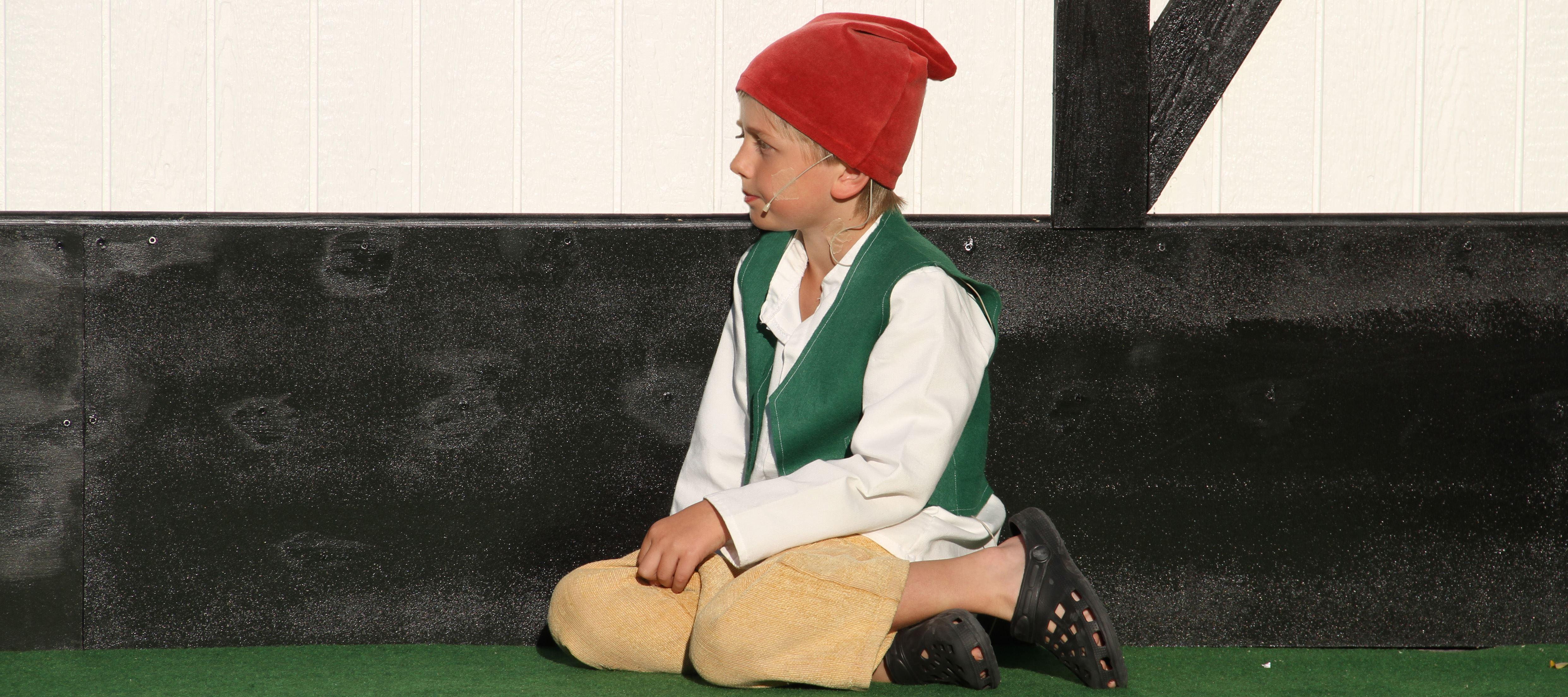 Gun Andersson, Nils Holgerssonspelen är en teater som visas intill skolan varje sommar