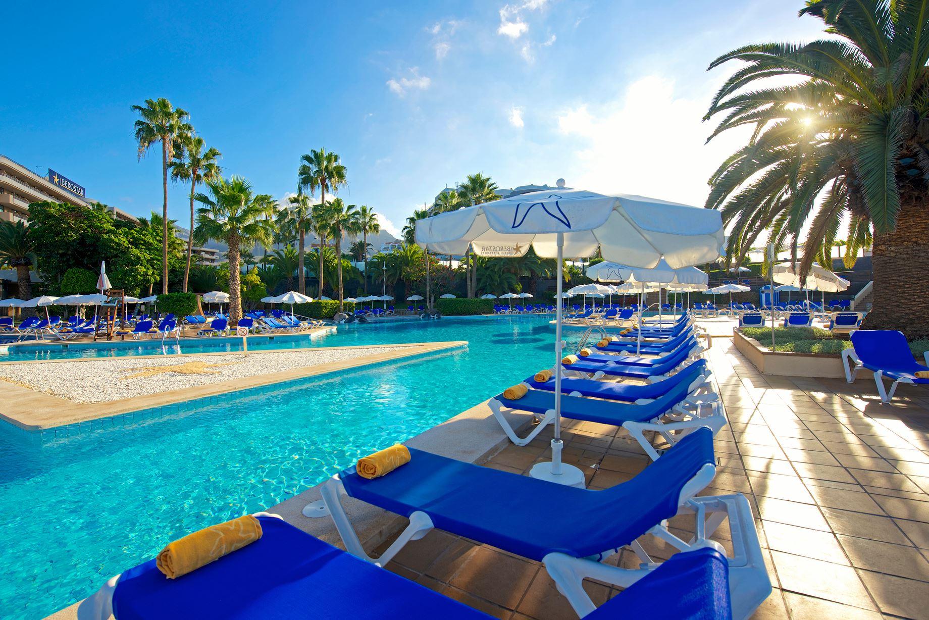 Pool, Iberostar Torviscas Playa, Adeje, Teneriffa, Signaturresor