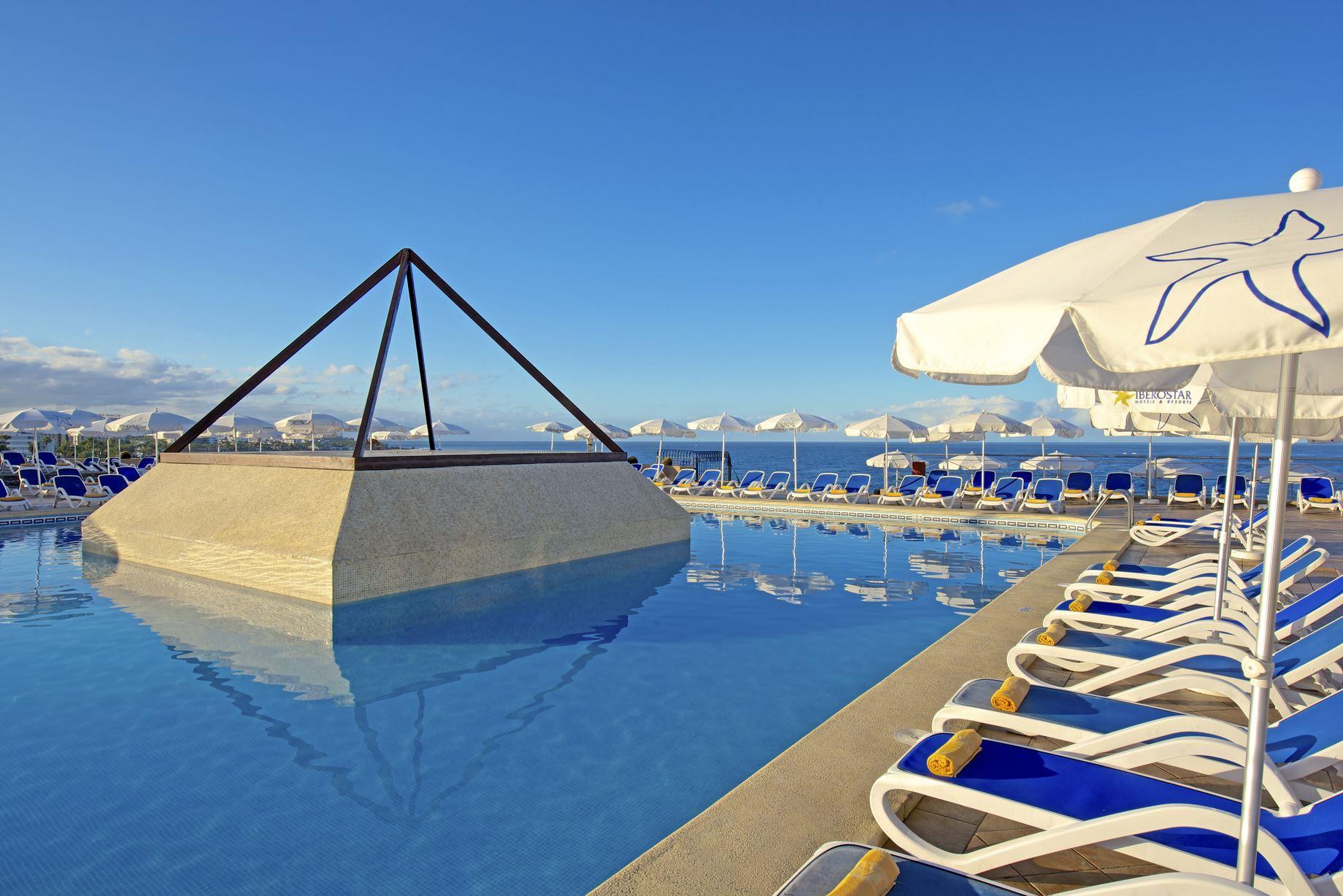 Pool, Iberostar Bouganville Playa, Adeje, Teneriffa, Signaturresor