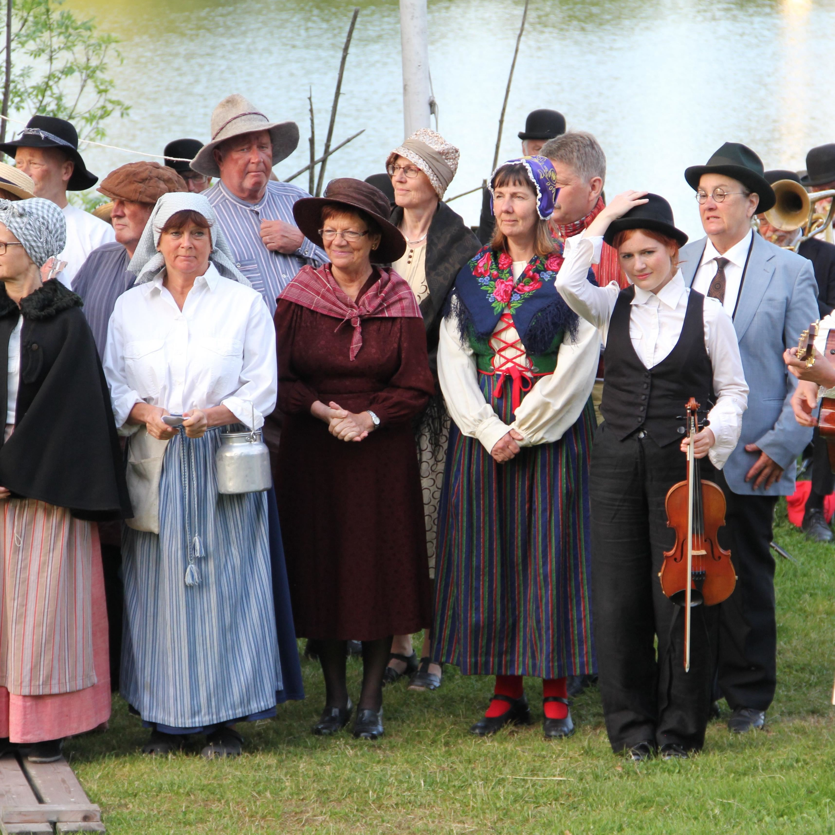 Det historiska spelet om Hedemora Gammelgård