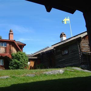 Hans Jensen, Holens Gammelgård, Tällberg