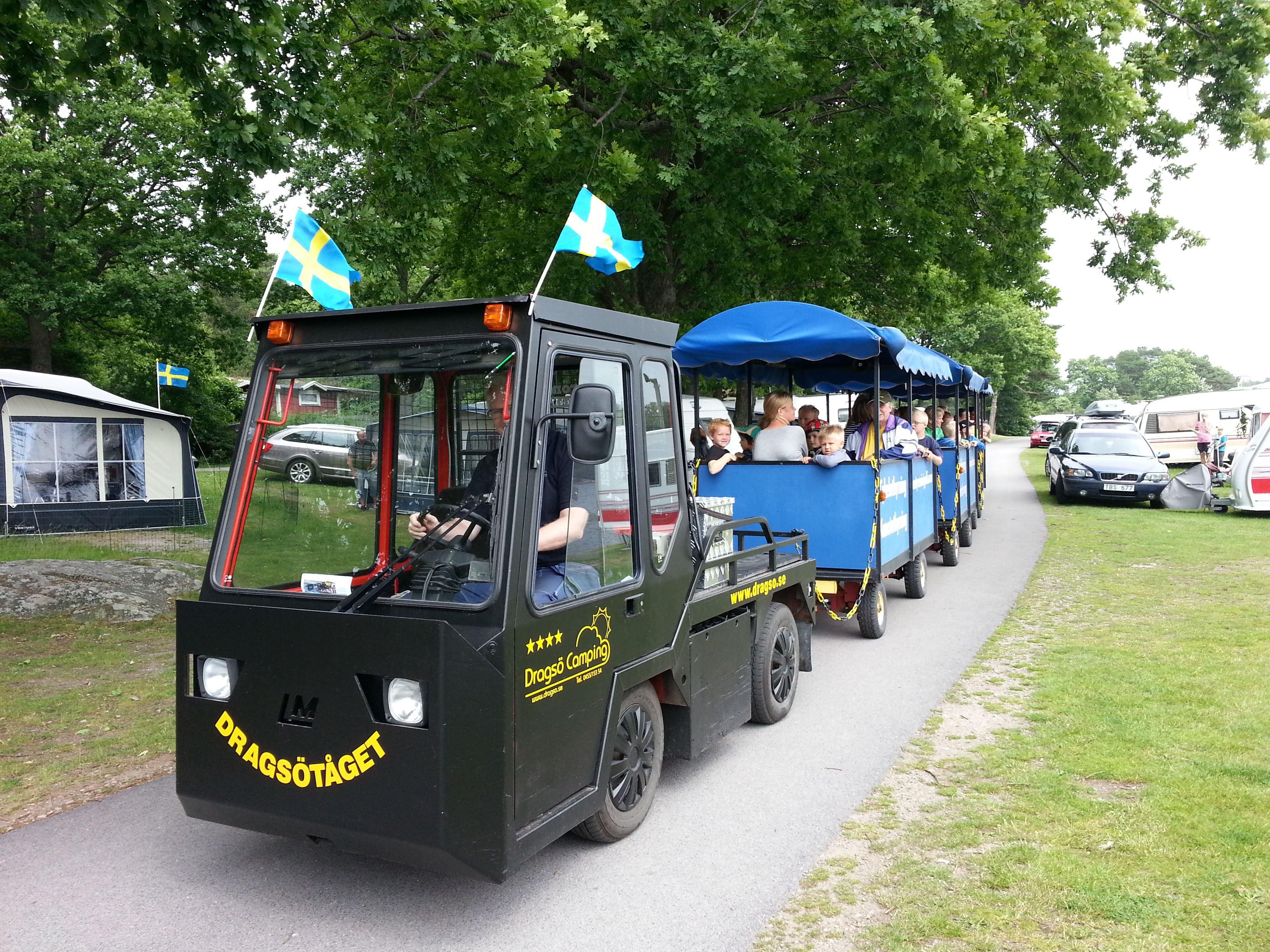Minitåg - Dragsötåget