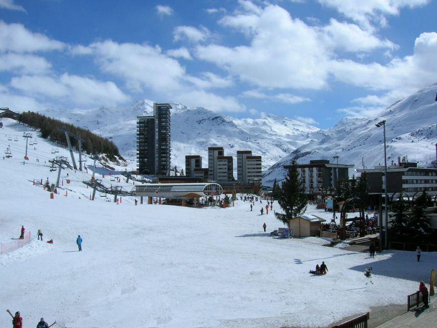 Studio 3 Pers skis aux pieds / LAC DU LOU 110