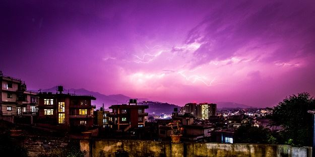 Exhibition - Nepal by night
