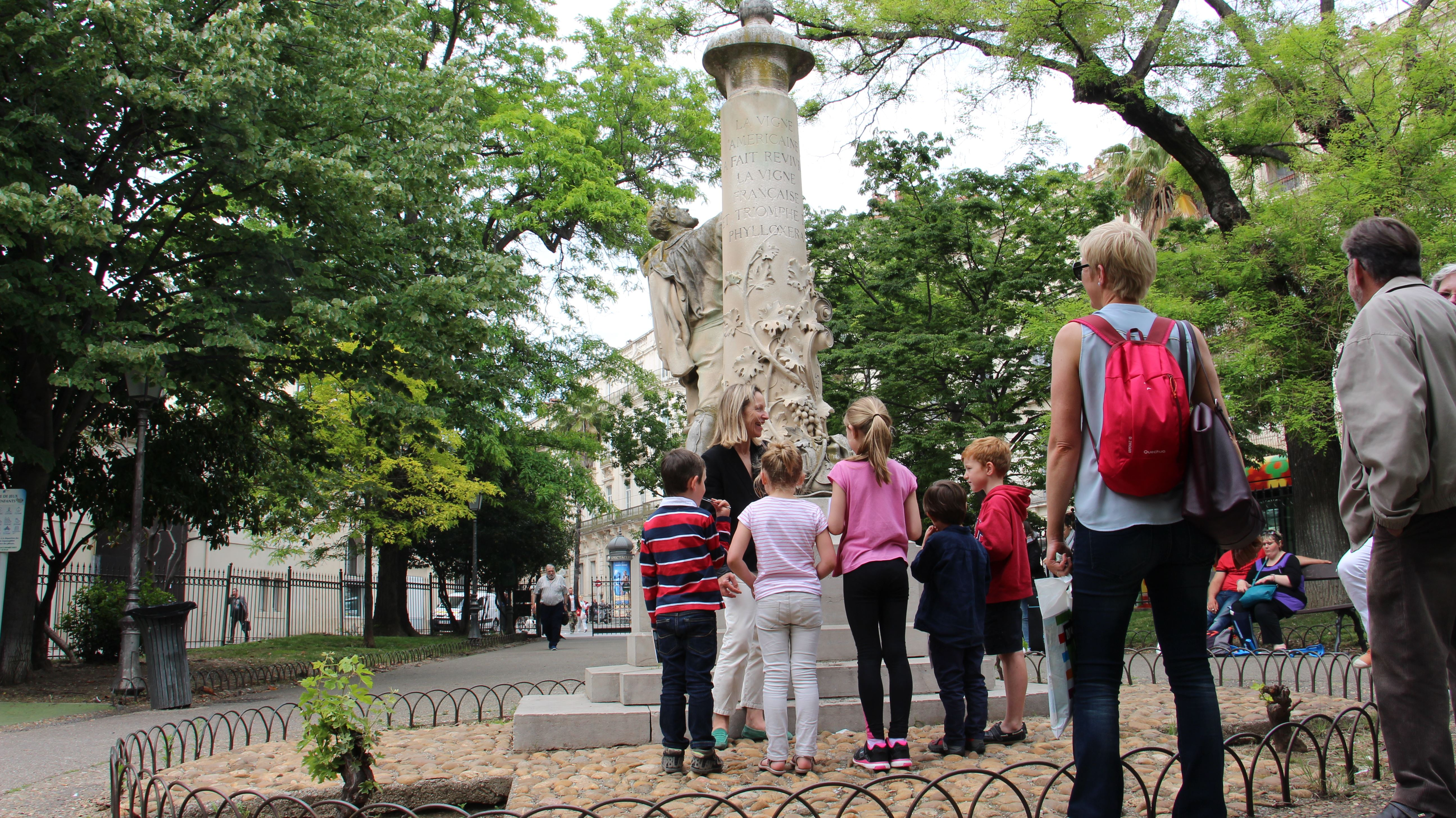 French guided tour - Special visit for children