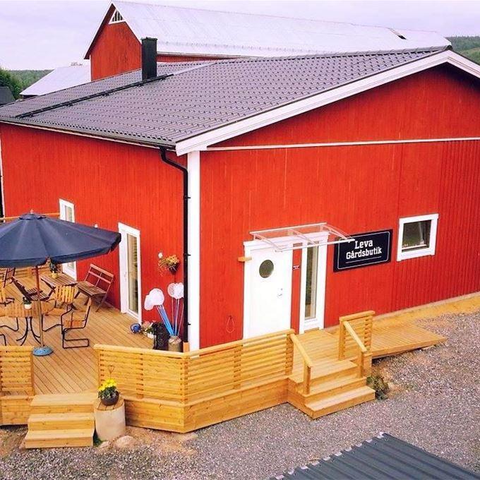 Levagård sommarcafé och gårdsbutik