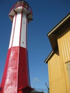 Guidad tur i Ystads hamn fyr och pegelhus