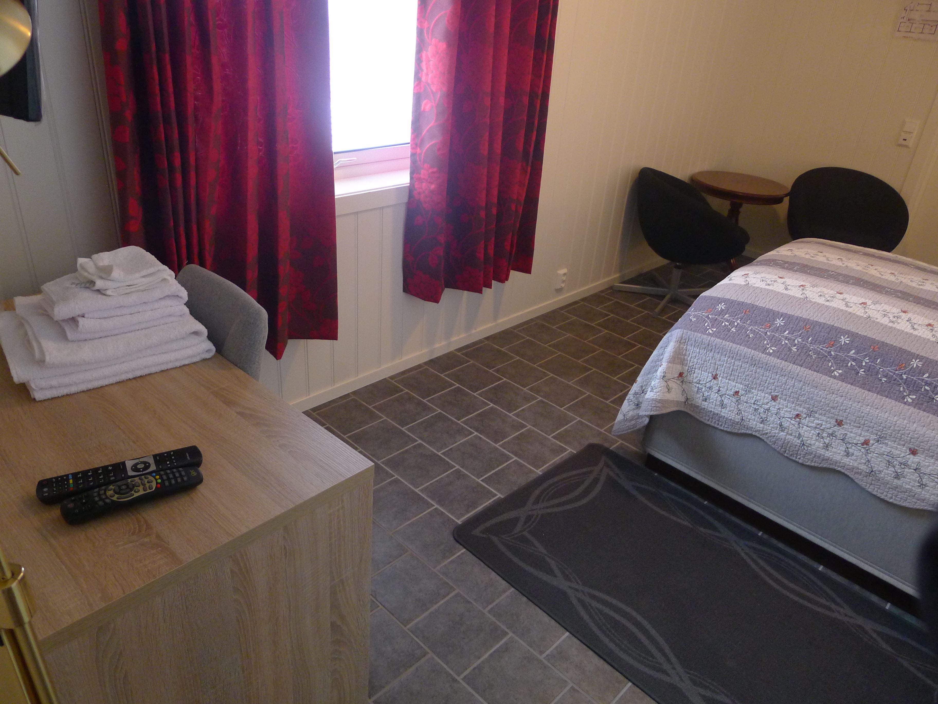 A room at Håkon Gjestehus