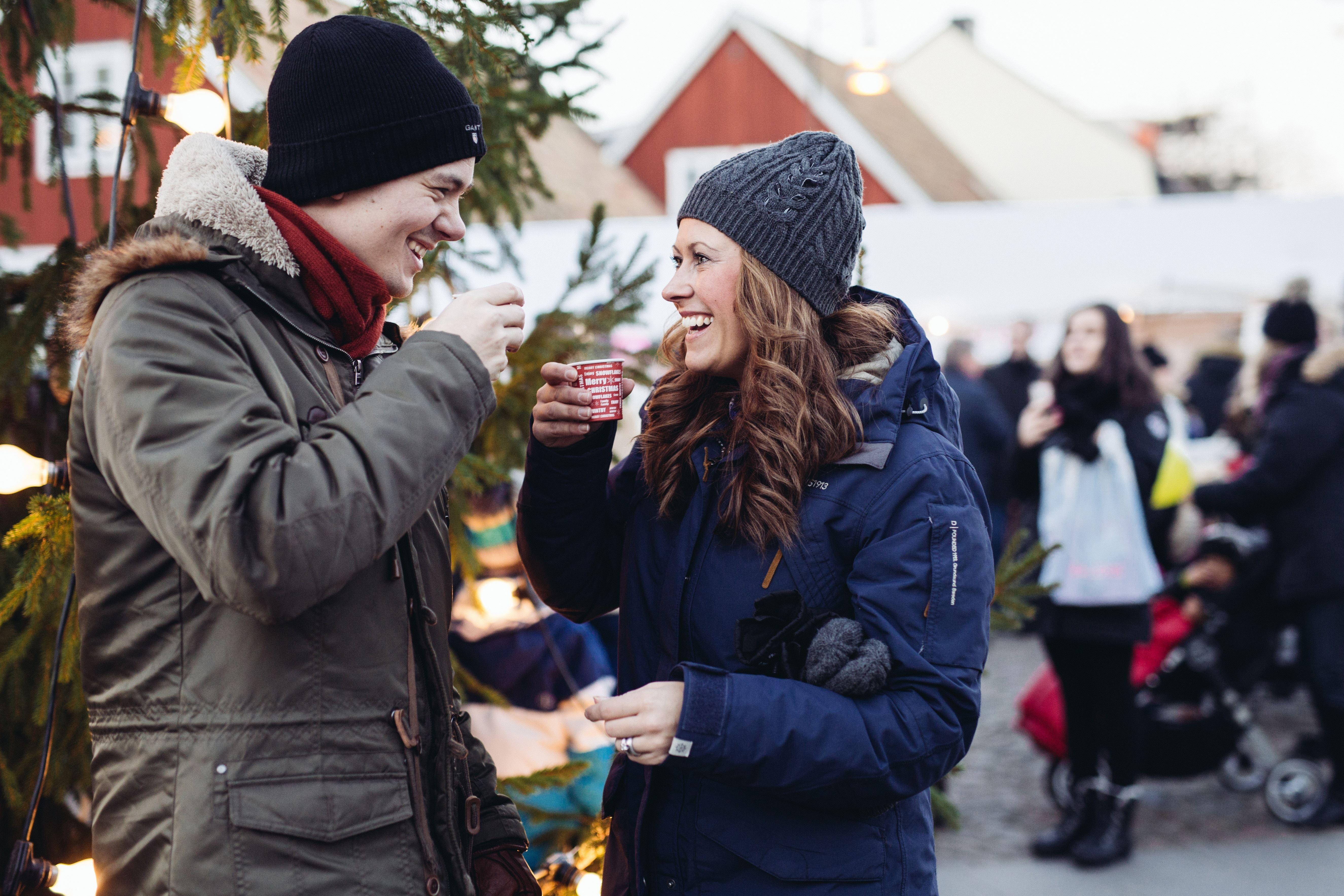 Lena Evertsson, Julmarknad och skyltsöndag På Stan