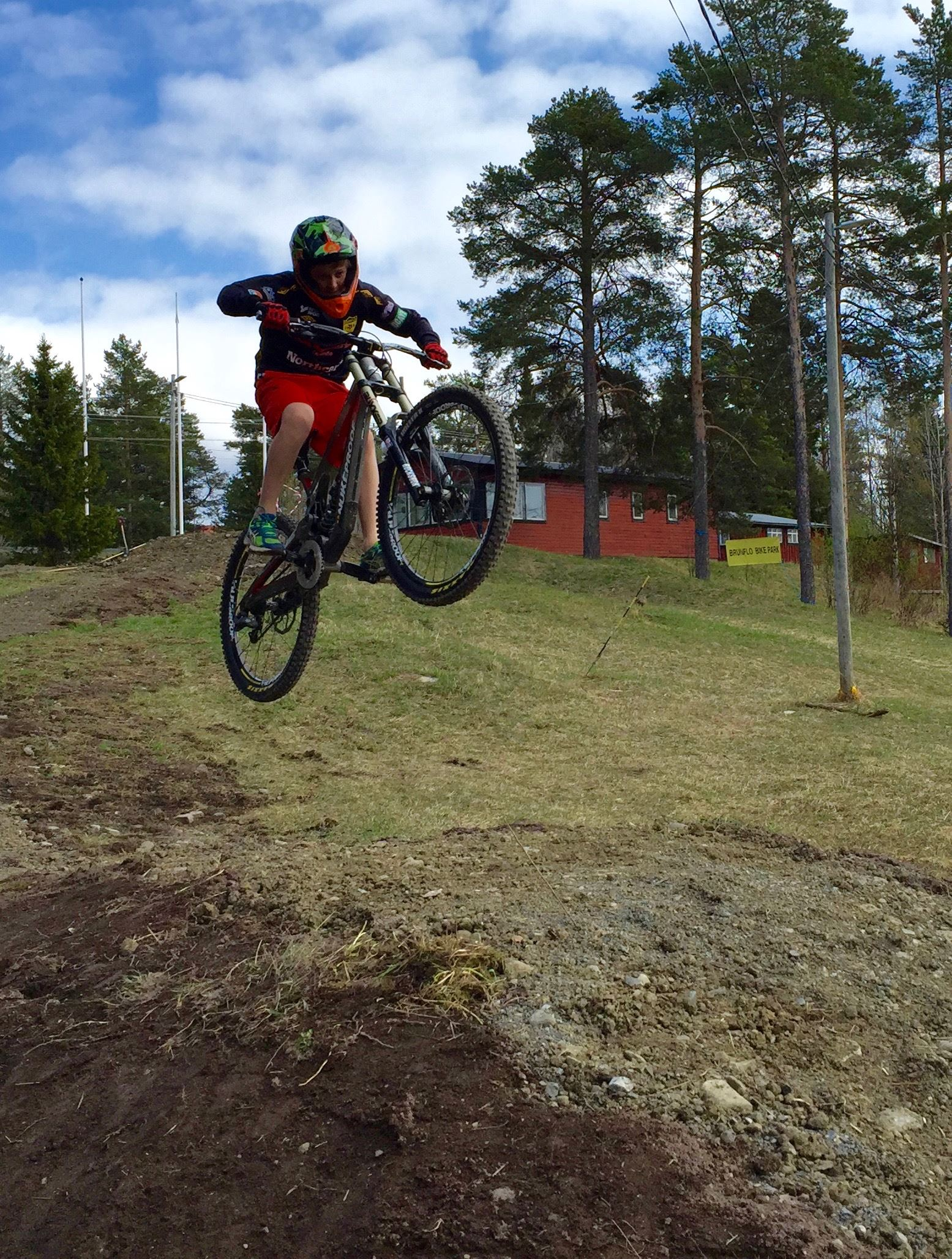 Martin Björnwall, Brunflo Bike Park