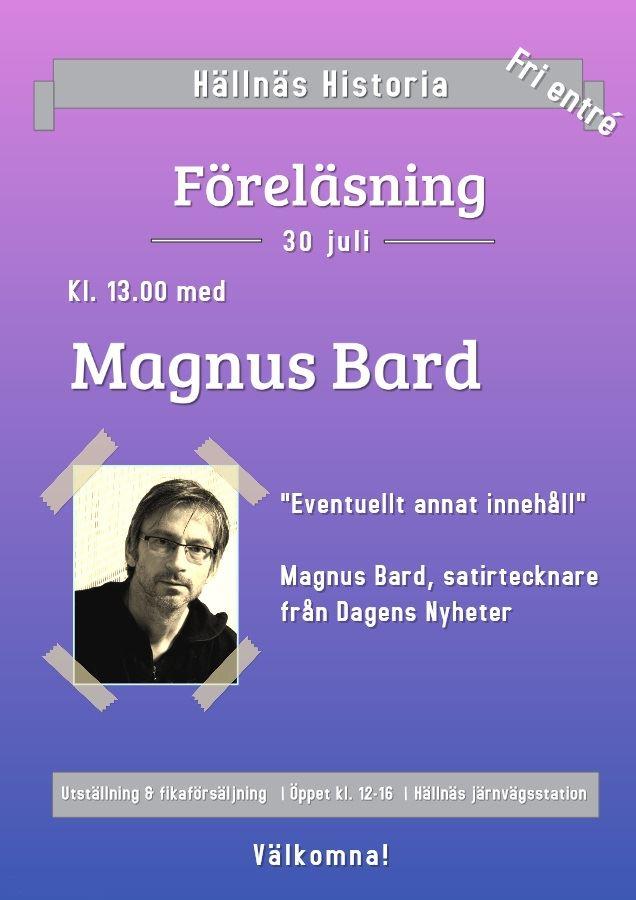 Magnus Bard, satirtecknare
