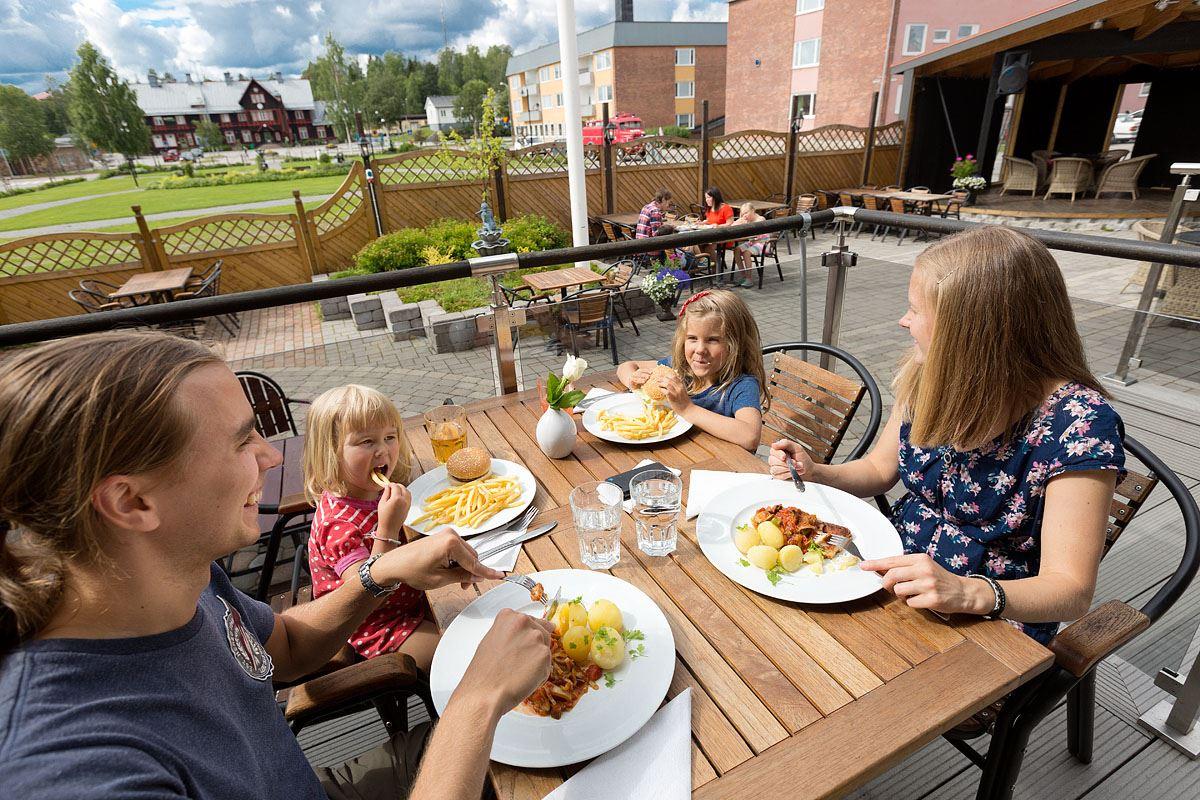 Hotel Vännäs, Restaurang