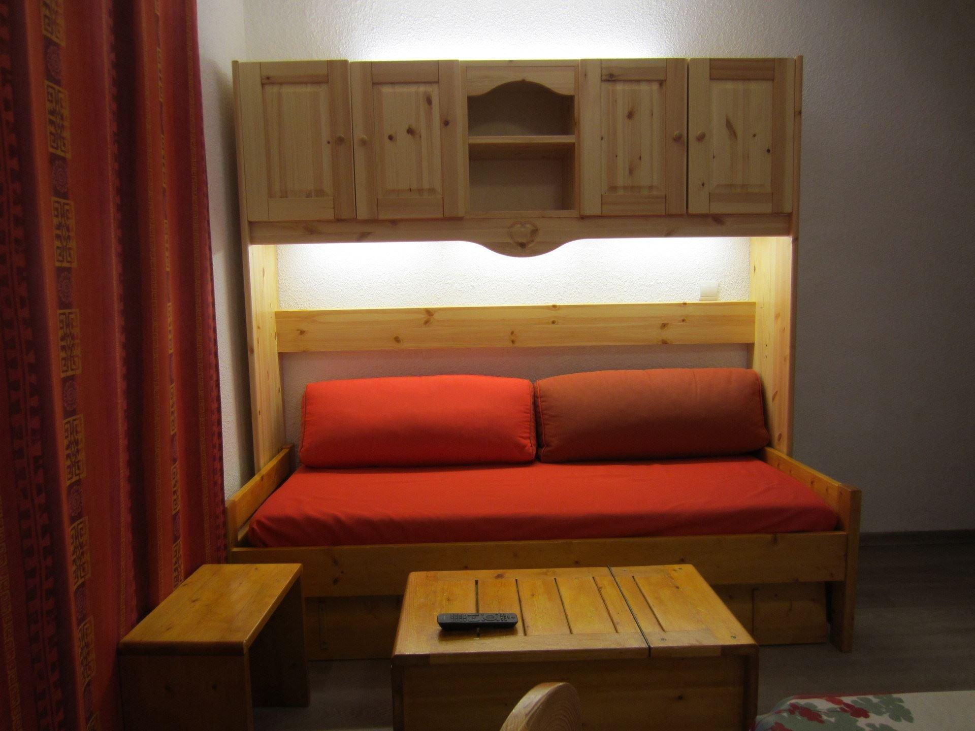 Studio cabine 4 Pers skis aux pieds / SORBIER 224