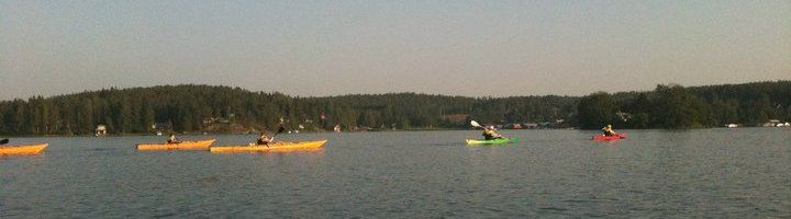 Kayak rentals and guided tours by Juniskär kayak